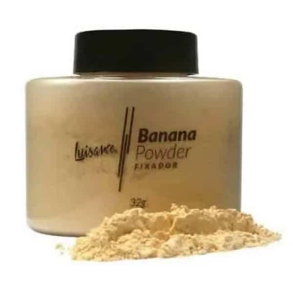 Pó Banana Powder Fixador Luisance