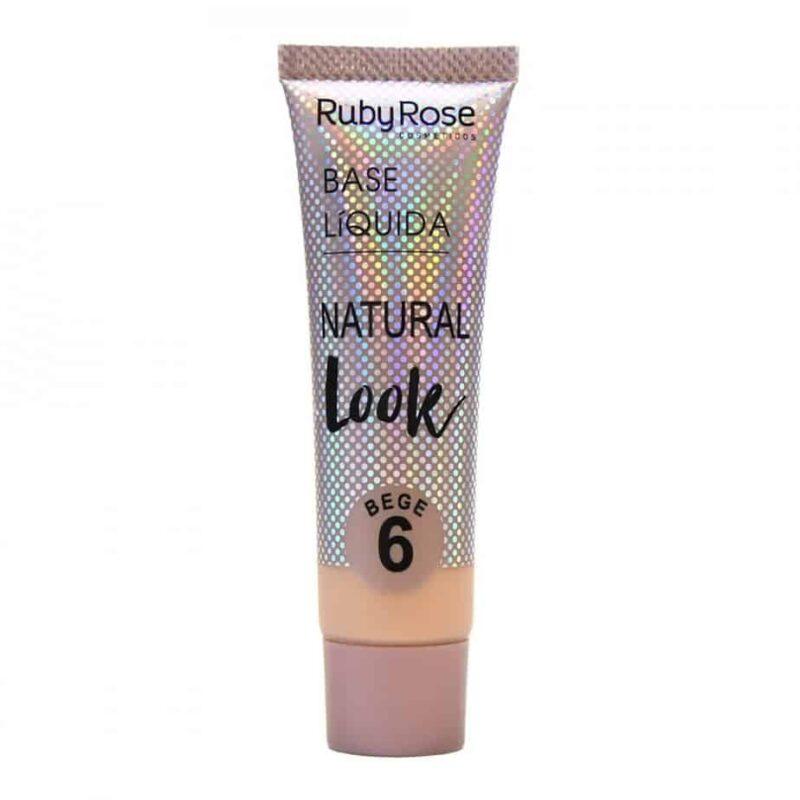 Base Líquida Natural Look Bege B6