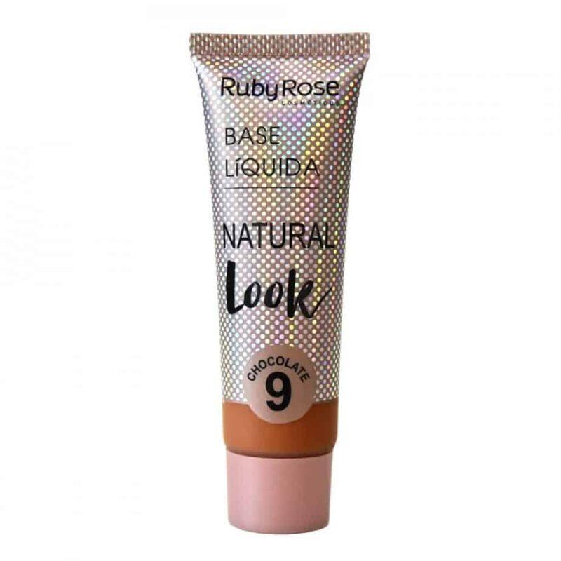 Base Líquida Natural Look CHOCOLATE 9 da Ruby Rose