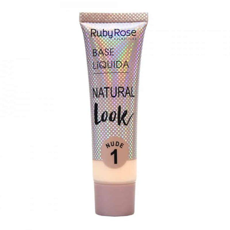 Base Líquida Natural Look Nude N1
