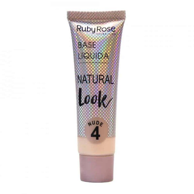 Base Líquida Natural Look Nude N4