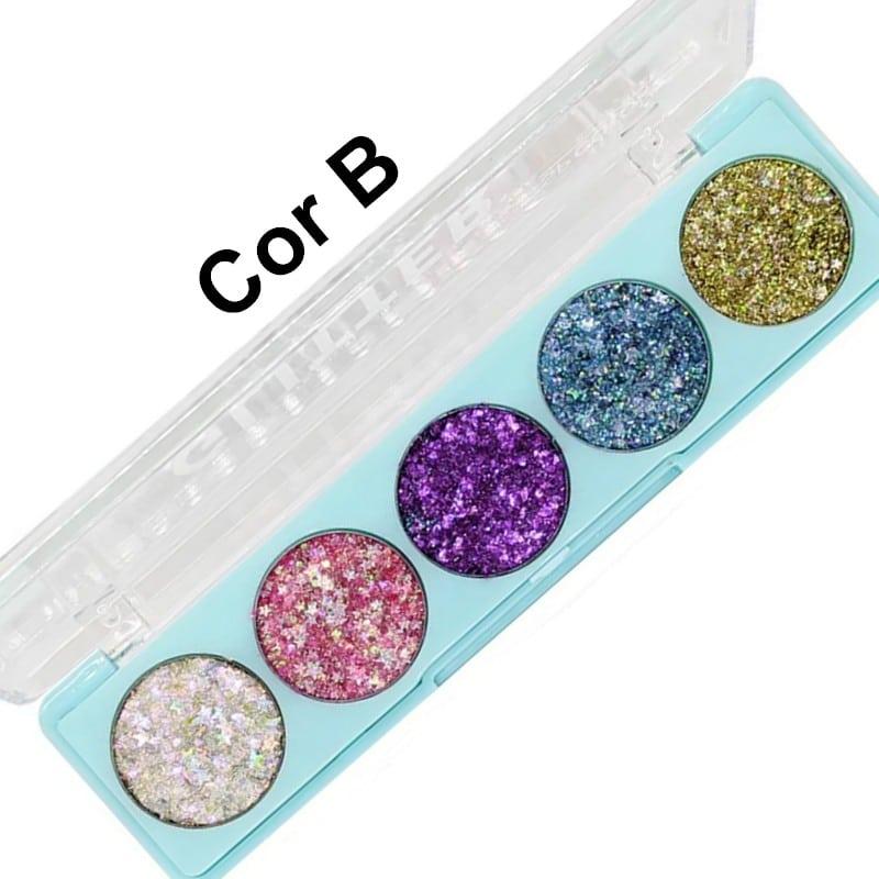Paleta de Glitter in the air da Sp Colors Modelo B