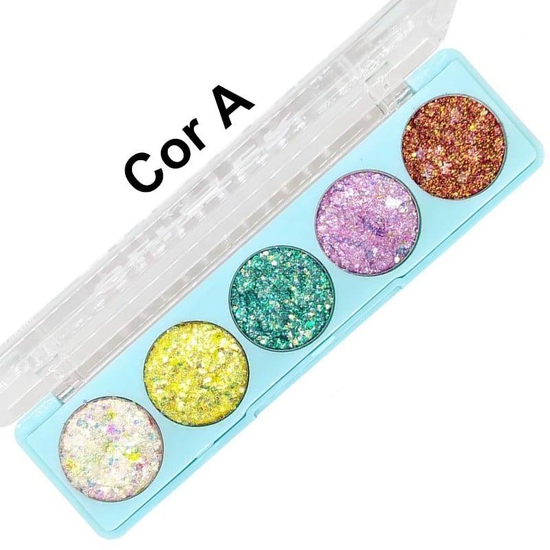 Paleta de glitter in the air da Sp Colors Modelo A