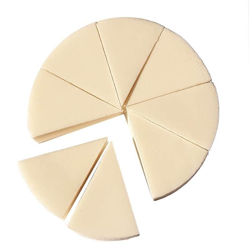 esponja queijo branca