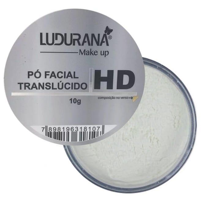 Pó Facial Translucido 10g - Ludurana
