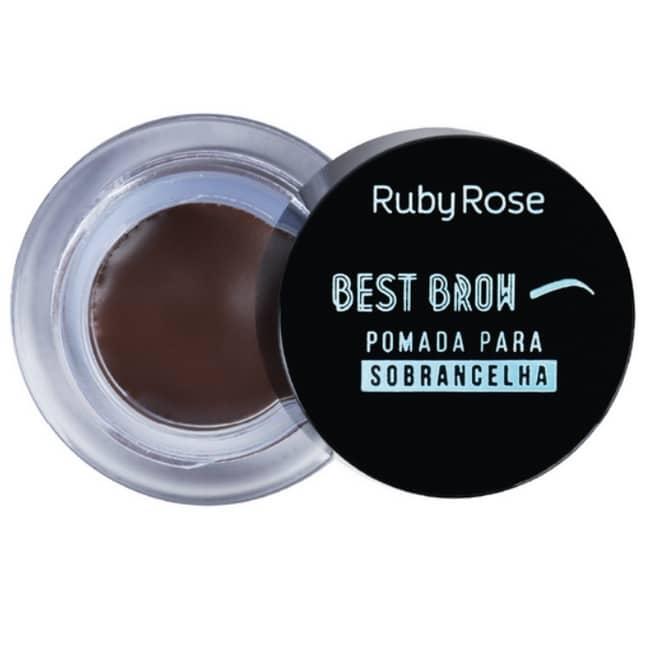 Pomada para sobrancelha Best Brow da Ruby Rose cor Dark
