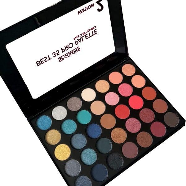 Paleta de sombras Best 35 Pro - SP Colors - Love Store Makeup