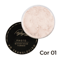 Pó Translúcido Photo Microfinish Powder da Playboy Cor 1