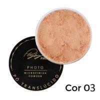Pó Translúcido Photo Microfinish Powder da Playboy Cor 2