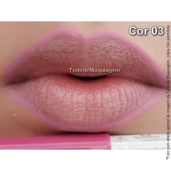 Lápis contorno labial Dapop Cor 03