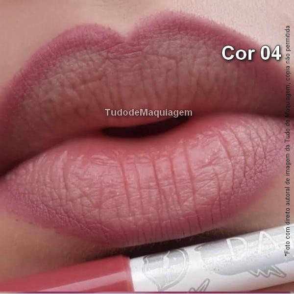 Lápis contorno labial Dapop Cor 04