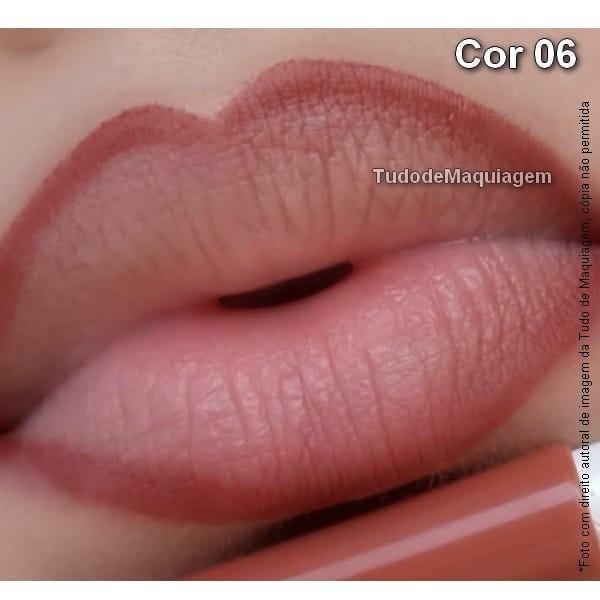 Lápis contorno lábial Dapop Cor 06
