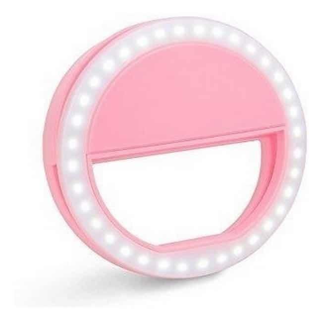 A luz Anel Clipe para Selfie Ring Light