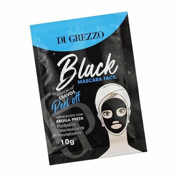 máscara facial black di grezzo