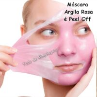 mascara argila rosa peel off da Vivai