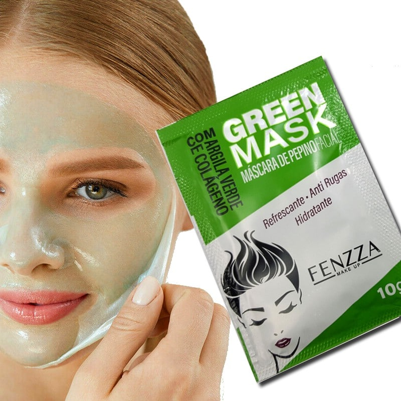 mascara facial pepino da Fenzza