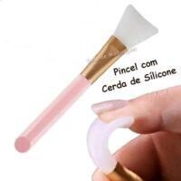 pincel de silicone