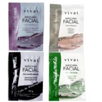 kit 4 saches mascara de argila