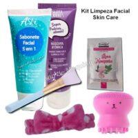 kit de limpeza facial skin care