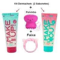 kit Limpeza facial Sabonetes pré e pos da Dermachem